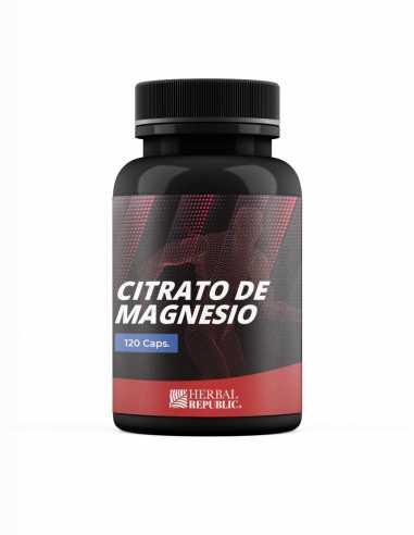 Citrato de Magnesio 120 caps (Óseo y...