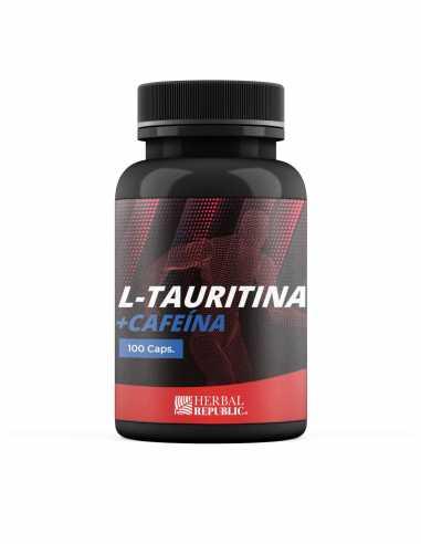 L- Taurina + Cafeína 100 caps